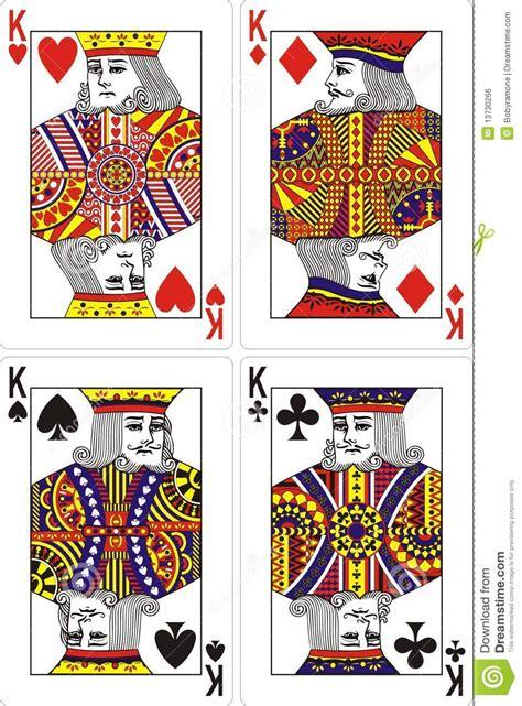 Carte De Image Libre by Roi De Cartes De Jeu Image Libre De Droits Image 13730266