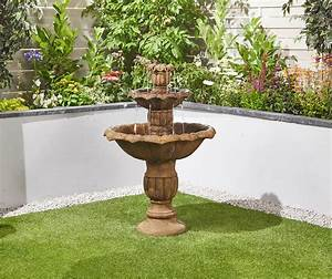 Ornate, Falls, Easy, Fountain, Garden, Water, Feature