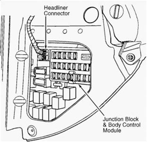chrysler sebring fuse box diagram  schemes