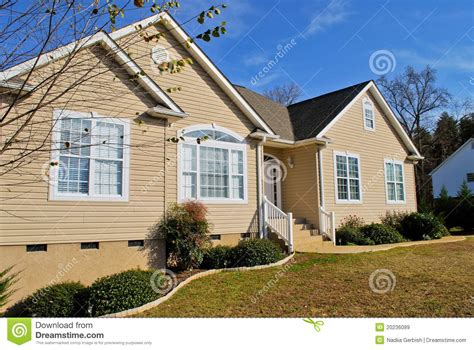 Typisches Amerikanisches Haus by Typical American Home Royalty Free Stock Images Image