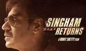 Singham Returns - Motion poster #2: Ajay Devgn dons sleek ...