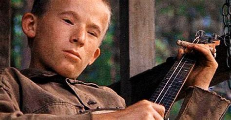 billy redden 1972 film deliverance he was 16 when he filmed the movie and was paid five hundred