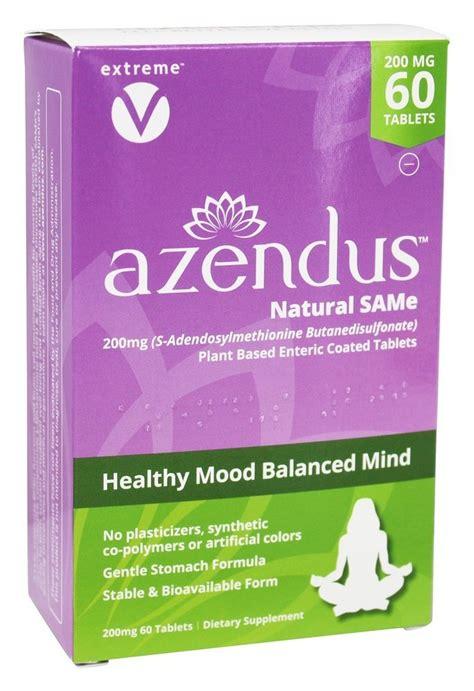 Amazon.com: Azendus SAM-e Mood Support 400mg per tablet