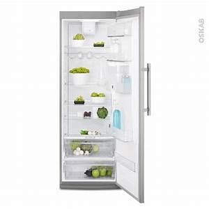 Refrigerateur Pose Libre Dans Une Niche : r frig rateur 395l pose libre 185 cm inox anti trace electrolux erf4116aox oskab ~ Melissatoandfro.com Idées de Décoration
