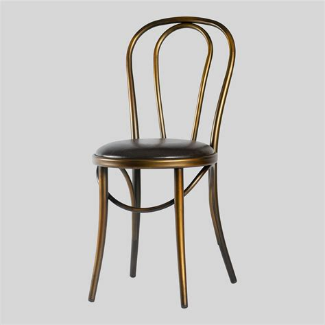 distressed bistro chair merida bistro dining chair metal