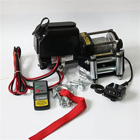 Winch Boat R by Racplus Electric Winches 2500lbs 12v Electric Recovery