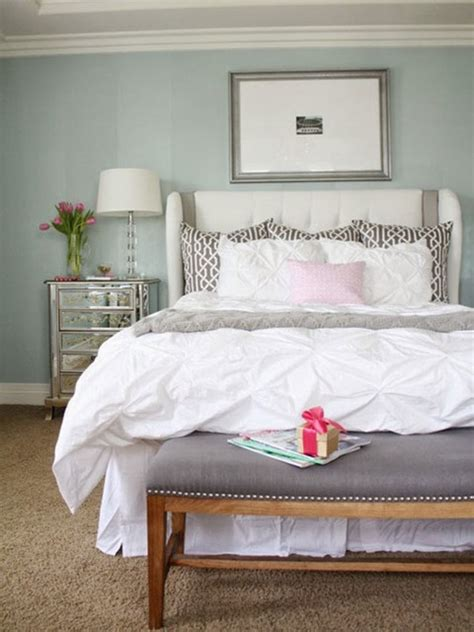 relaxing  calming master bedroom transitional