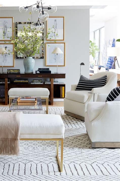 neutral  patterned rug ideas emily  clark