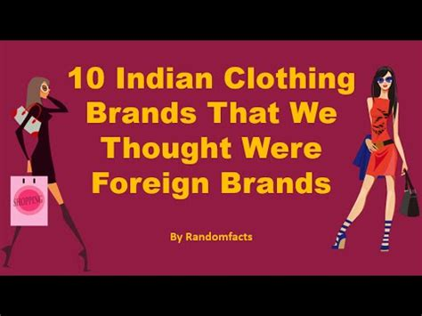 10 Indian Clothing Brands That We Thought Were Foreign