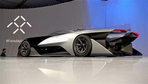 The Faraday Future Batmobilelike Concept Car Doesn't