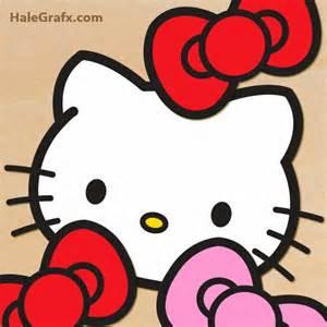 Free Printable Hello Kitty Bow