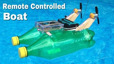 Water Bottle Boat by How To Make Rc Boat At Home Out Of Plastic Bottles