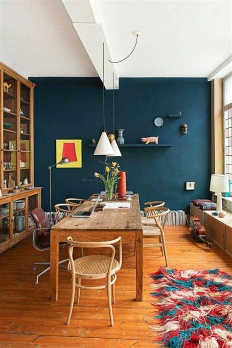 Küche Wandfarbe Ideen by 100 Interieur Ideen Mit Grellen Wandfarben