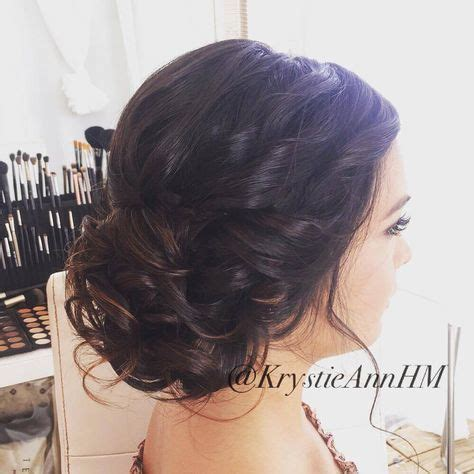 best 25 wedding hair brunette ideas on pinterest