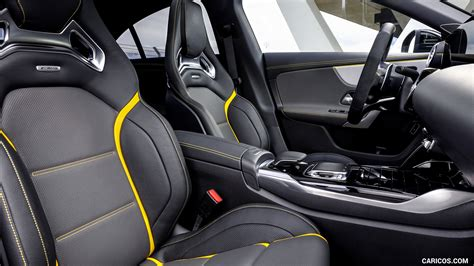 Inside, the cla adopts a modern dashboard design: 2020 Mercedes-AMG CLA 45 S 4MATIC+ - Interior, Front Seats ...