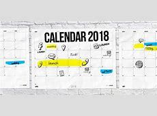 Calendar 2018 to print PDF monthly calendar free for team