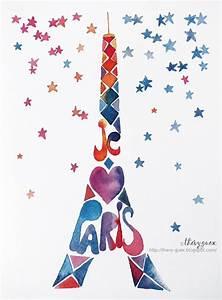 Peinture De Paris Poissy : les 25 meilleures id es concernant dessin de la tour ~ Premium-room.com Idées de Décoration