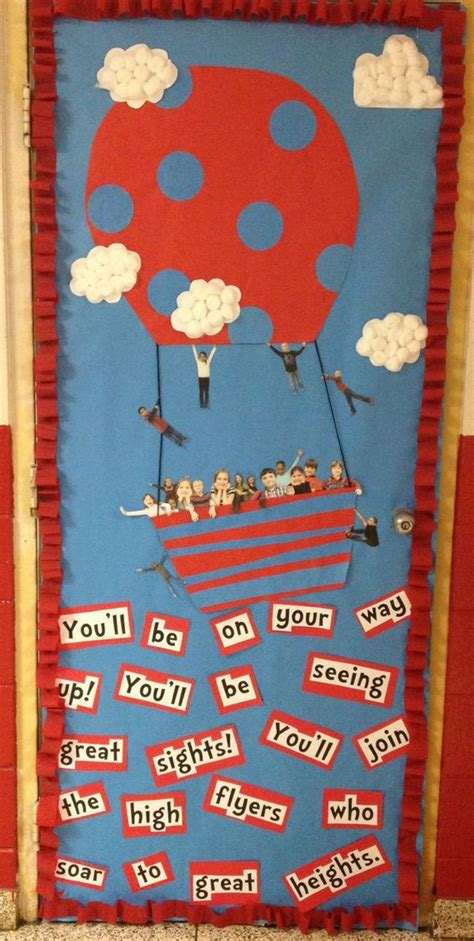 dr seuss classroom door decoration abc s and 123 s dr suess reading goals and