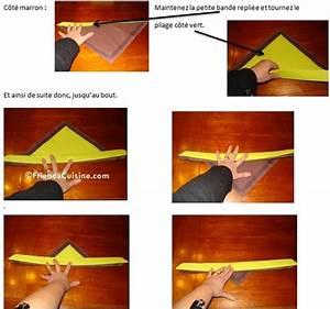 Porte Serviette En Papier : pliage de serviette bicolore n 1 flamme et porte serviette assorti ~ Teatrodelosmanantiales.com Idées de Décoration