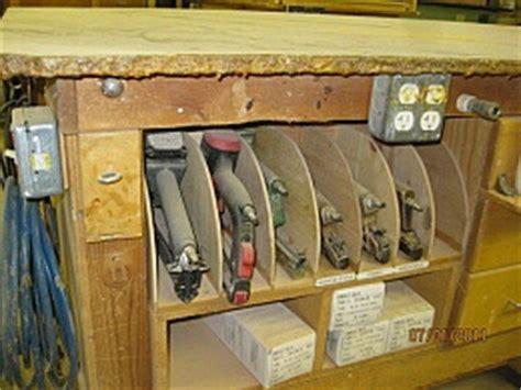 homemade pneumatic nailer storage homemadetoolsnet