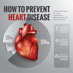 How To Prevent Heart Disease Diagram Vector Image