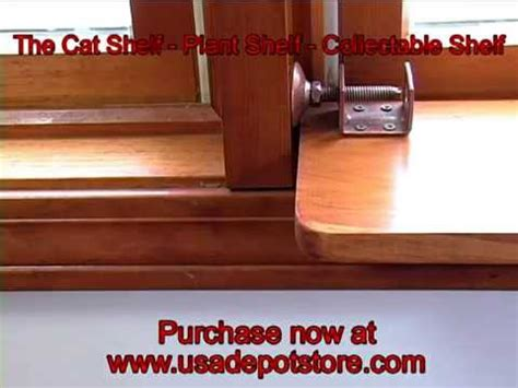 Window Ledge Extender by The Cat Shelf Plant Shelf Collectible Window Shelf By