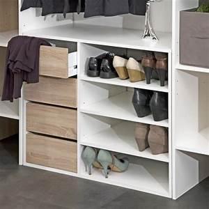 Caisson Dressing Pas Cher : dress kit dressing extensible 112 185 cm rideau blanc ~ Premium-room.com Idées de Décoration