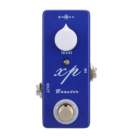 mosky guitar xp booster mini pedal effect attenuator vol switching bosster bypass clean true single accessories parts pedals rat