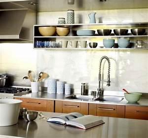 Küchen Wandregale : k chen ideen 30 einrichtungsideen wie sie den kleinen ~ Pilothousefishingboats.com Haus und Dekorationen