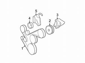 Chrysler Imperial Pulley  Idler  Accessory  Drive  Belt
