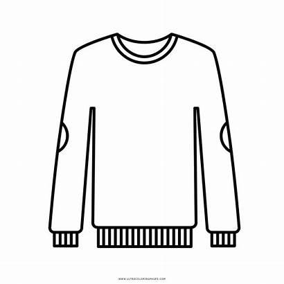 Sweater Maglione Icon Colorare Disegni Coloring Sweatshirt