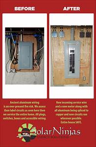 Aluminum Wiring  Insurance   U0026 The Solarninjas Solution