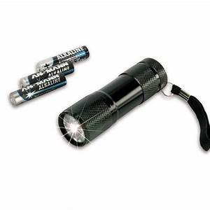 Lampe Led A Pile : mini lampe torche 9 led ansmann 3 piles aaa ~ Dailycaller-alerts.com Idées de Décoration