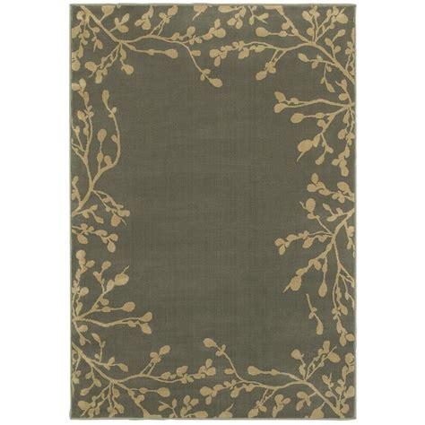 4 ft area rugs weavers arbor vine blue 4 ft x 6 ft area rug