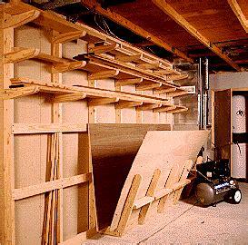 wood storage ideas   woodworking shop blueprints