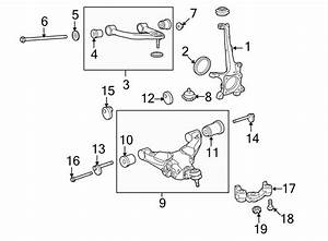 Toyota Tundra Suspension Control Arm  Front  Lower