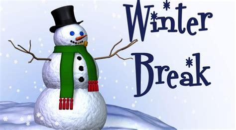 traditional winter break dec  jan   school