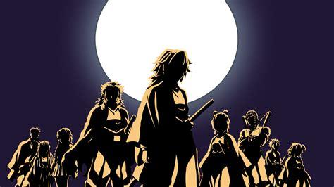 kimetsu  yaiba moon anime  wallpaper