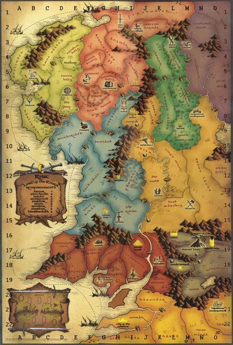 map  middle earth ideas  pinterest