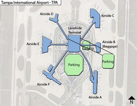 tampa international airport maplets
