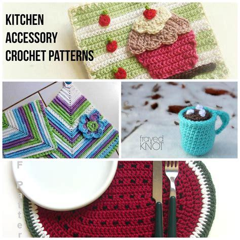 crochet patterns kitchen creatys for