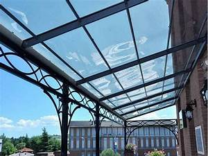 Coperture in pvc trasparente per tettoie