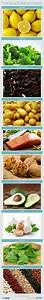 top 10 healthiest foods visual ly