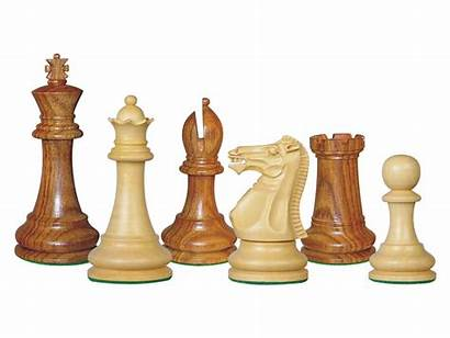 Chess Pieces Wooden Staunton Monarch Rosewood Boxwood