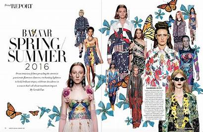 Bazaar Magazine Nomiolo Editorial Harper Layout Singapura