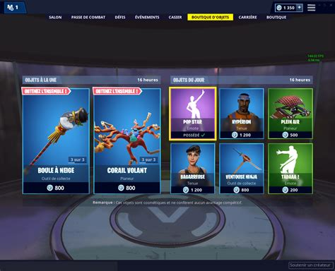 boutique fortnite du  decembre poiscaille dexertofr