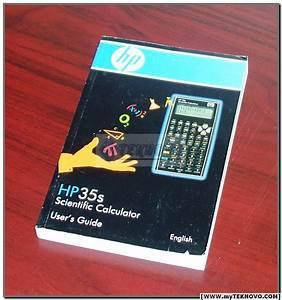 Hp 35s Calculator User U0026 39 S Guide Manual Hp Oem Brand New