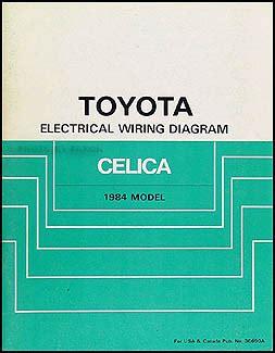 car repair manual download 1984 toyota celica on board diagnostic system 1984 toyota celica supra wiring diagram manual original
