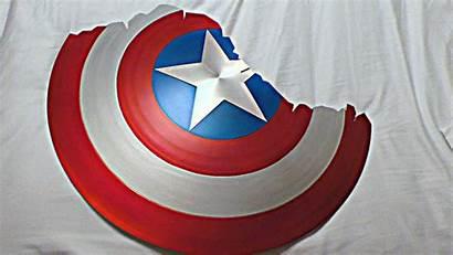 Shield Captain America Replica Endgame Cracked