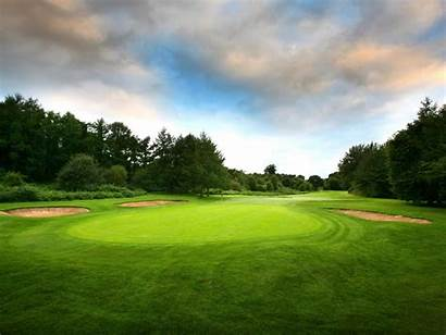 Field Golf Grass Wallpapers Flower Mac Sports